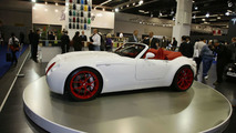 Wiesmann Roadster MF5 live in Frankfurt