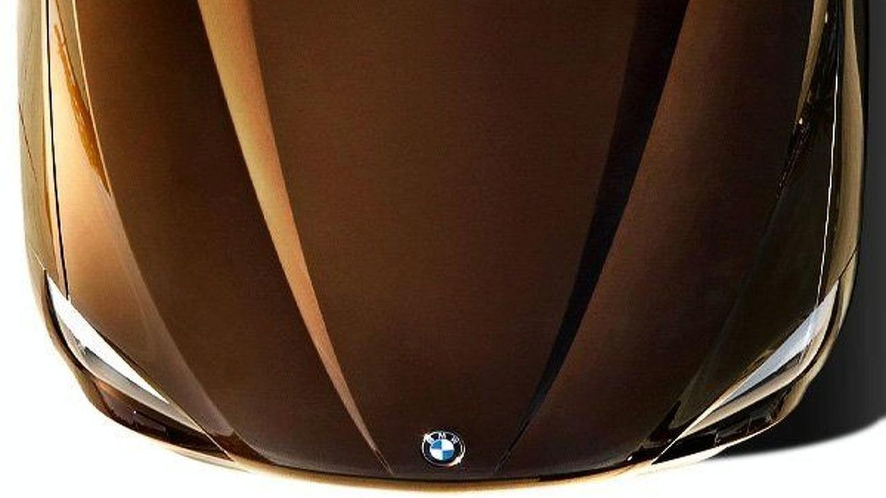 BMW X1 SUV Teaser Photo - hood
