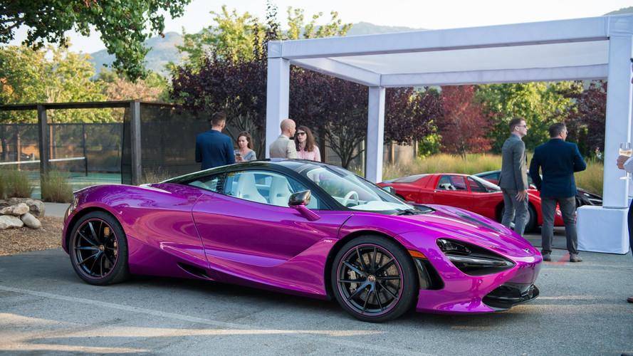 McLaren 720S Finished In 'Fux Fuchsia' Is Delightfully Vulgar