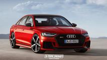 Audi RS8 render