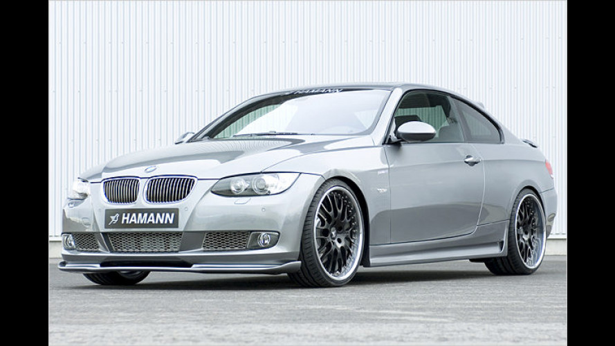 Hamann spendiert dem BMW 3er Coupé extra PS