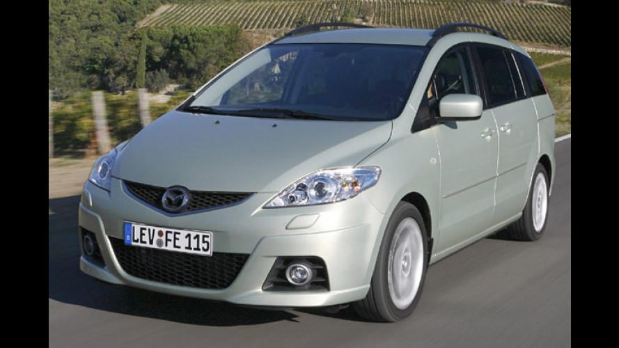 Überarbeitet: Modellpflege für den Minivan Mazda 5