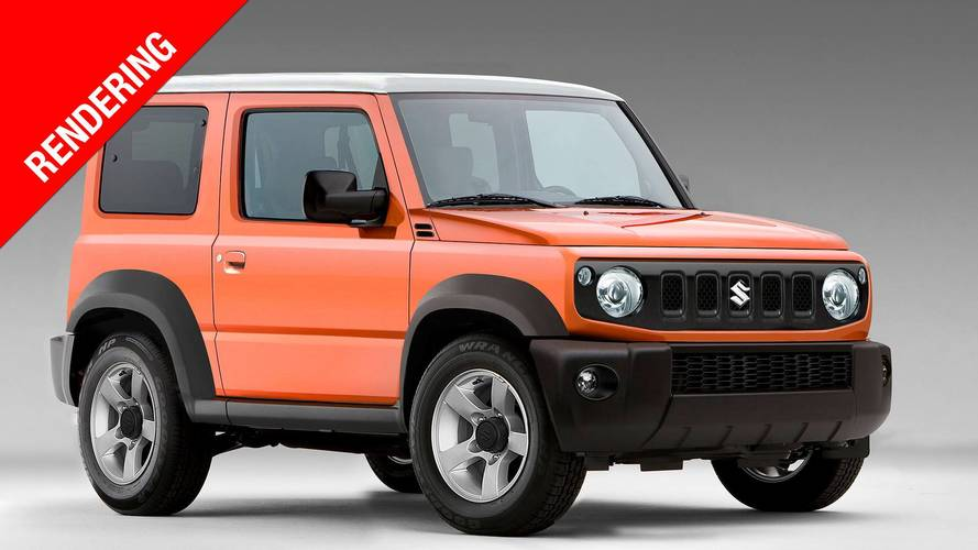 suzuki jimny render foto. Black Bedroom Furniture Sets. Home Design Ideas