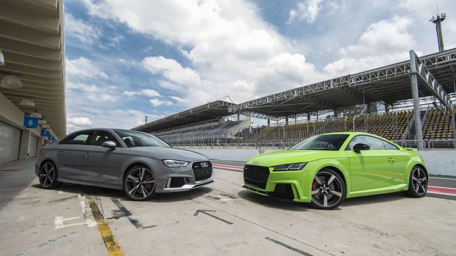 Primeiras Impressões: Audi RS3 e TT RS no autódromo de Interlagos