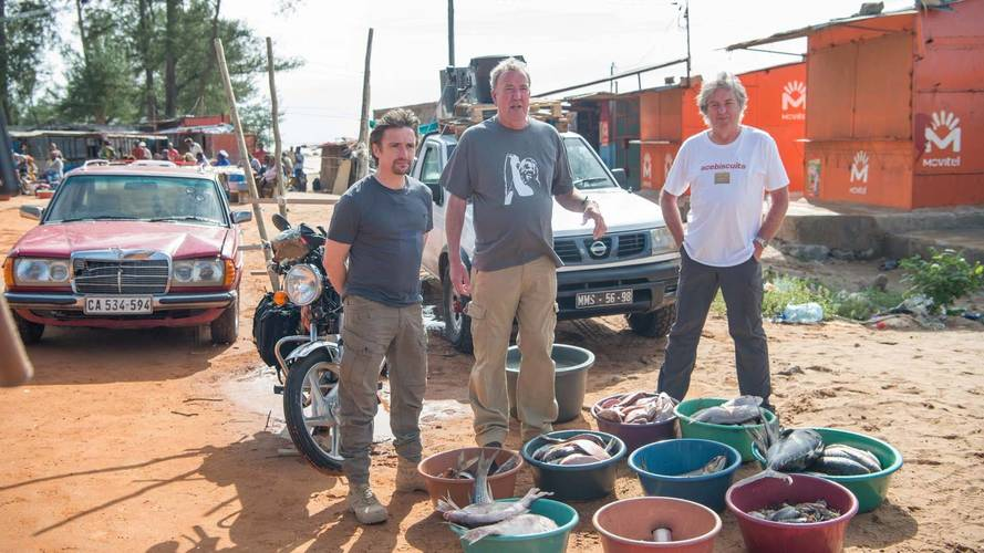 the grand tour finale sees the trio 39 save the world 39 in mozambique. Black Bedroom Furniture Sets. Home Design Ideas