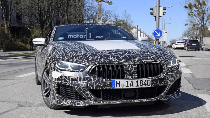 Photos espion - BMW Série 8 Coupé et Cabriolet