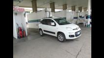 Fiat Panda a metano, la prova dei consumi reali