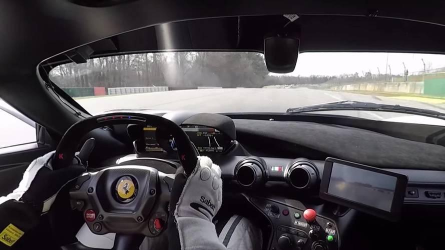 VIDÉO - Un onboard en Ferrari FXX K à Road Atlanta