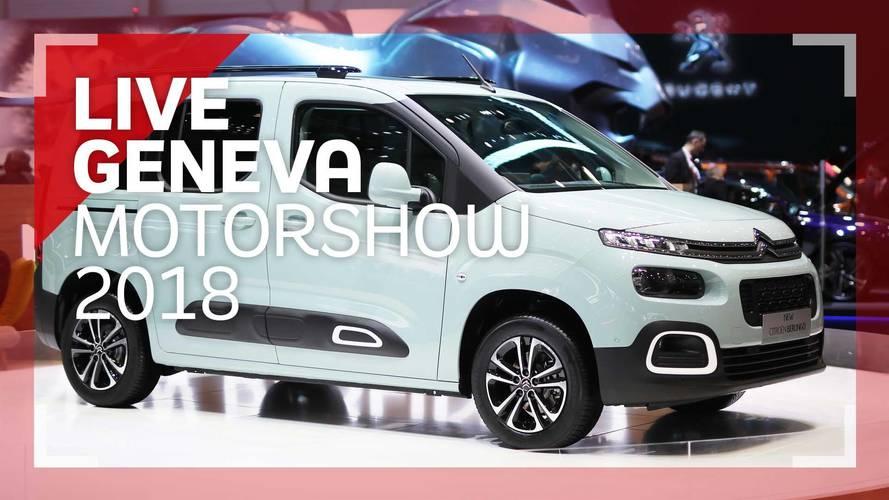 Genève 2018 - Le Citroën Berlingo en vidéo