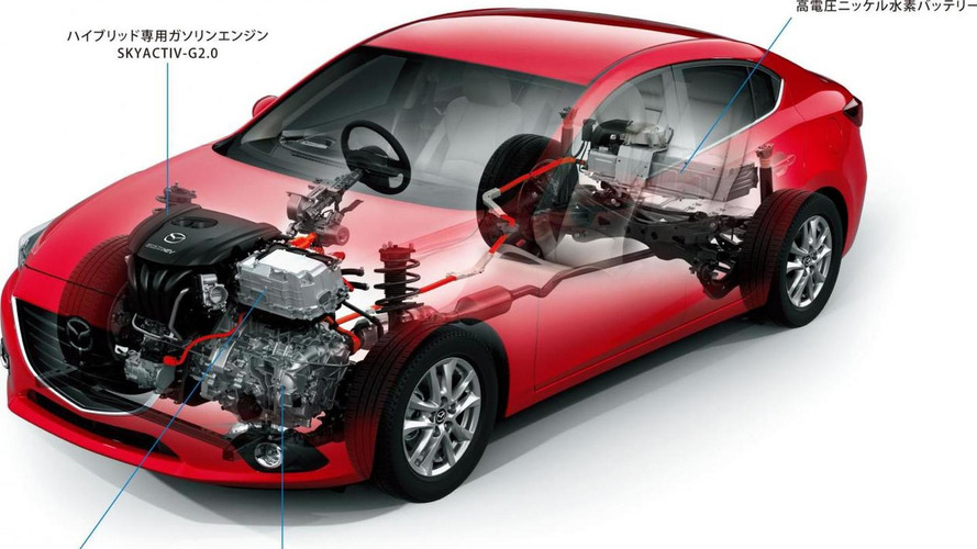 Mazda working on diesel-electric hybrid system - report