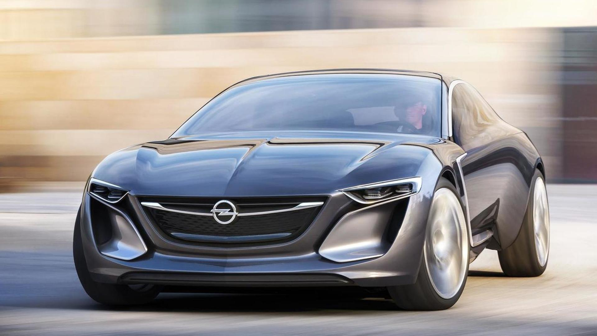 opel monza based large suv flagship model due in 2017 report. Black Bedroom Furniture Sets. Home Design Ideas
