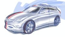 Nissan X35 Concept design sketch