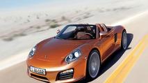 2011 Porsche Boxster Artist Rendering