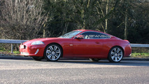 Jaguar XK-R facelift with front end uncovered