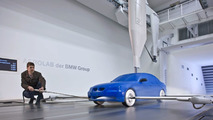 BMW model wind channel Aerodynamic Testing Centre