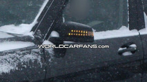 Mercedes GLK with LED lights spy photo