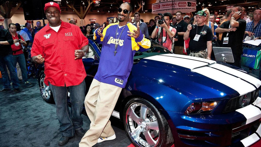 Snoop Dogg's Funkmaster Flex Ford Mustang at SEMA