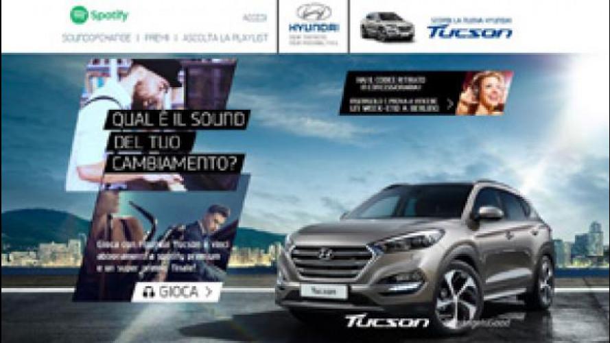 Hyundai Tucson, un contest con Spotify per raccontare il cambiamento del marchio