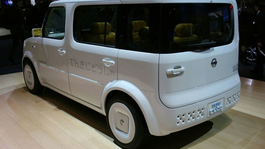 Nissan Denki Cube Concept Unveiled At New York Auto Show