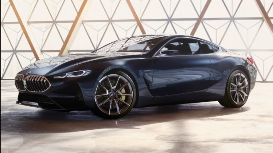 BMW Serie 8 Concept, quando l'ammiraglia ha due porte