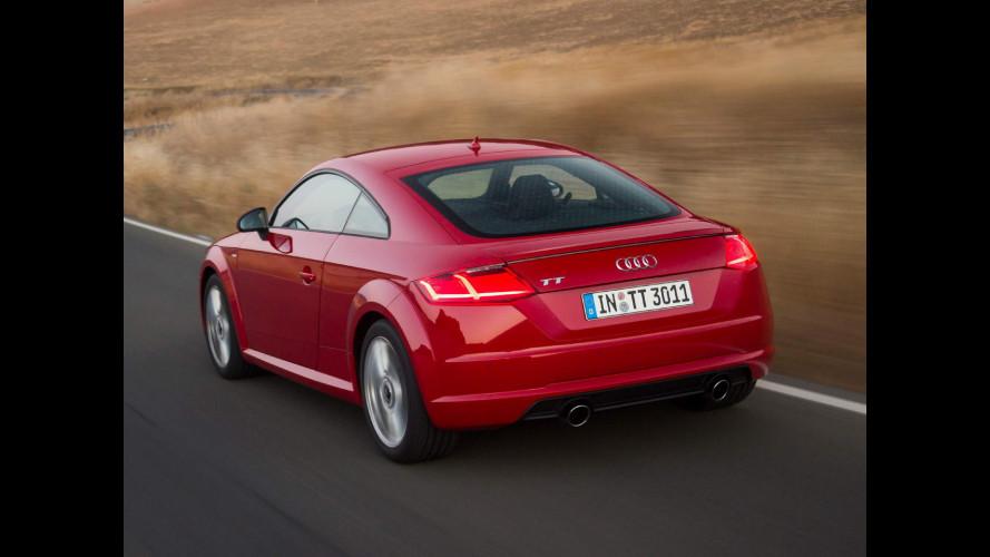 Nuova Audi TT, anche diesel a meno di 41.000 euro