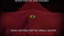 Ferrari 2014 F1 car teaser
