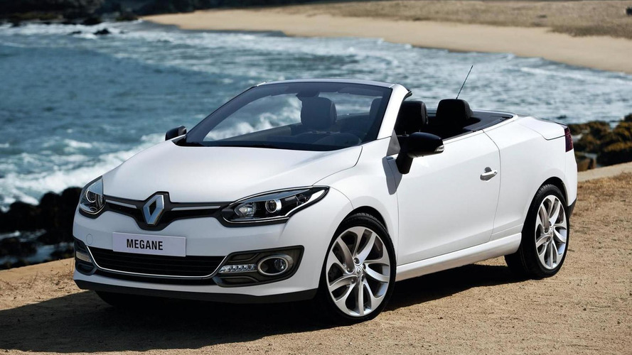 2014 Renault Megane Coupe-Cabriolet facelift revealed