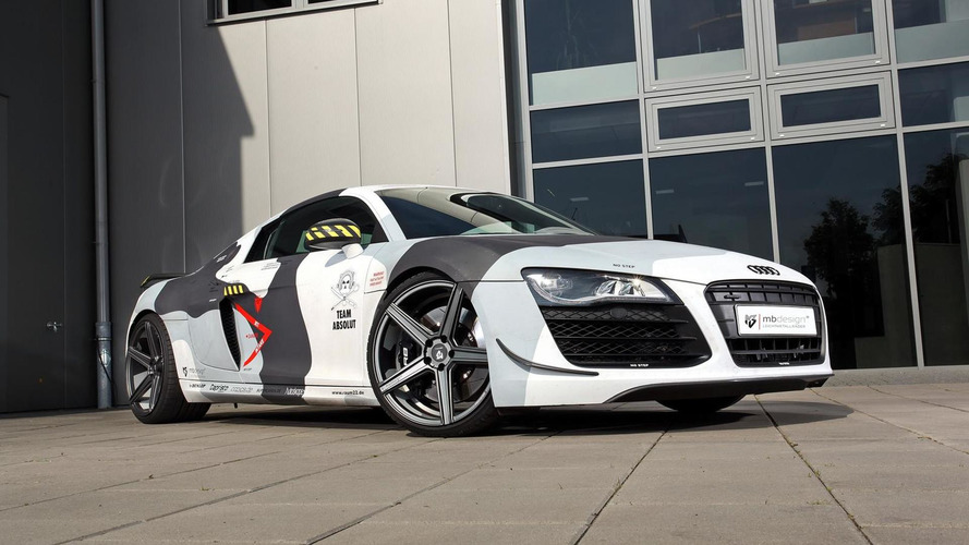 Audi R8 tricked out by mbDESIGN