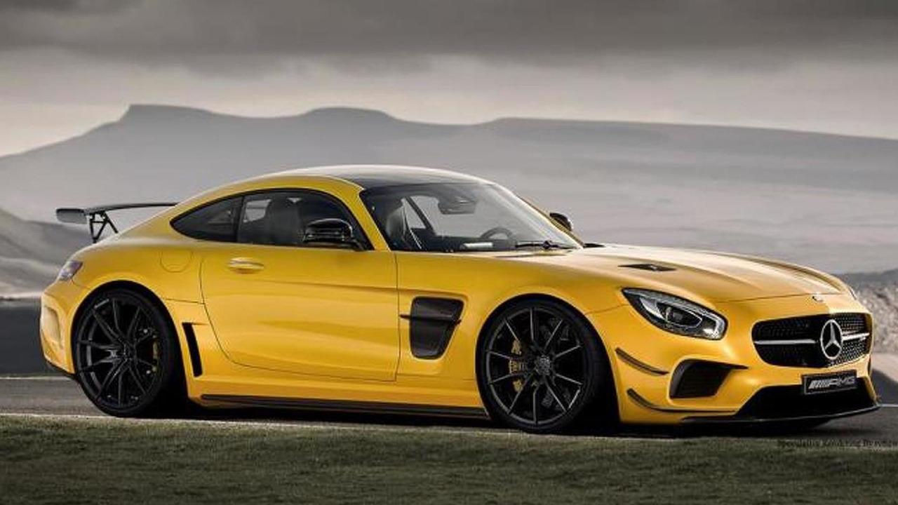 Mercedes-AMG GT Black Series rendering / r82 workchop