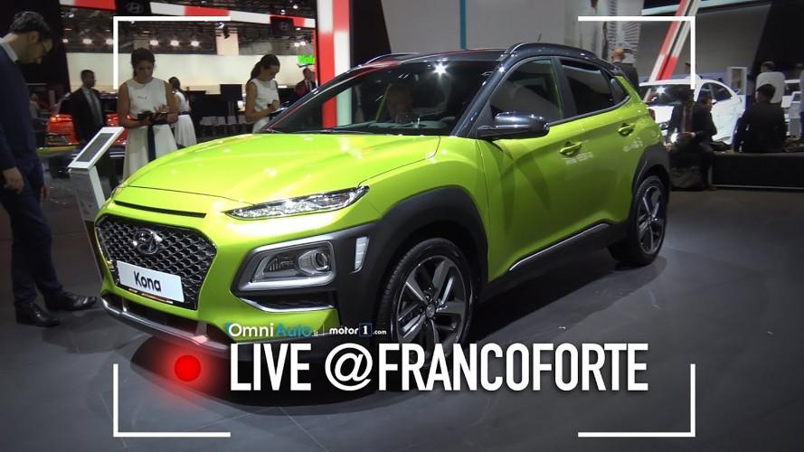 Salone di Francoforte: Hyundai Kona, impossibile confonderla