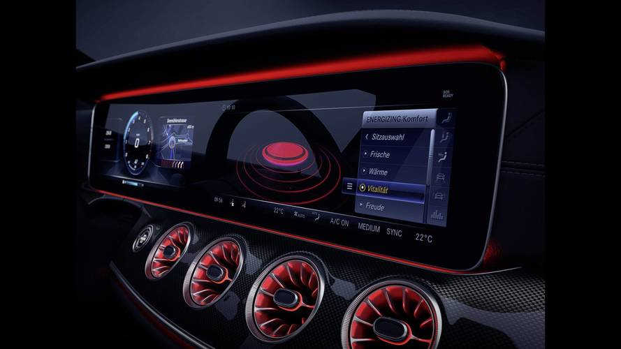 Último teaser del Mercedes CLS 2018, antes de su presentación oficial