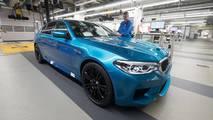 2018 BMW M5 production starts