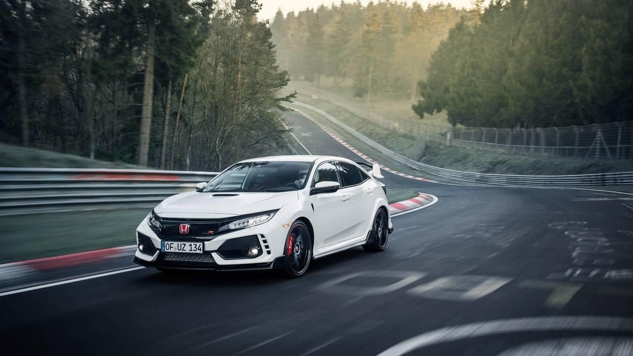 Compacte la plus rapide - Honda Civic Type R