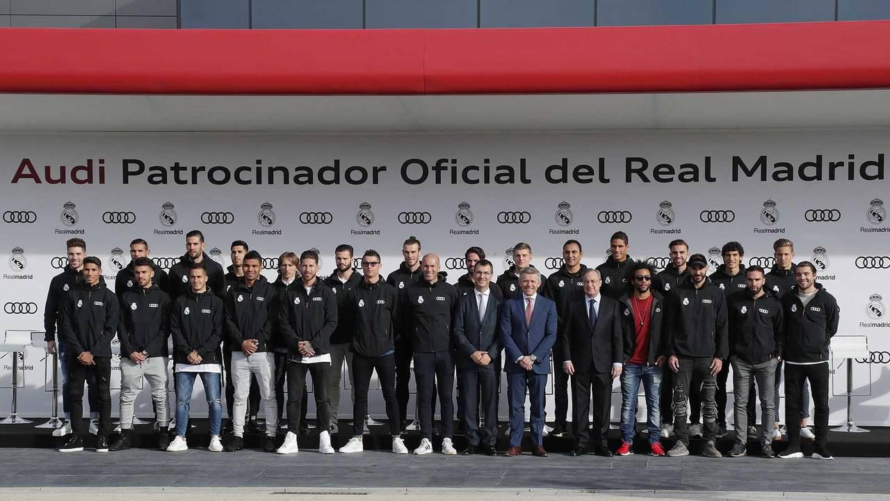 Les joueurs du Real Madrid 2017