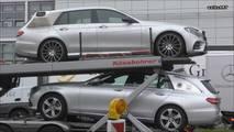 Garip Mercedes-Benz E-Serisi prototipi