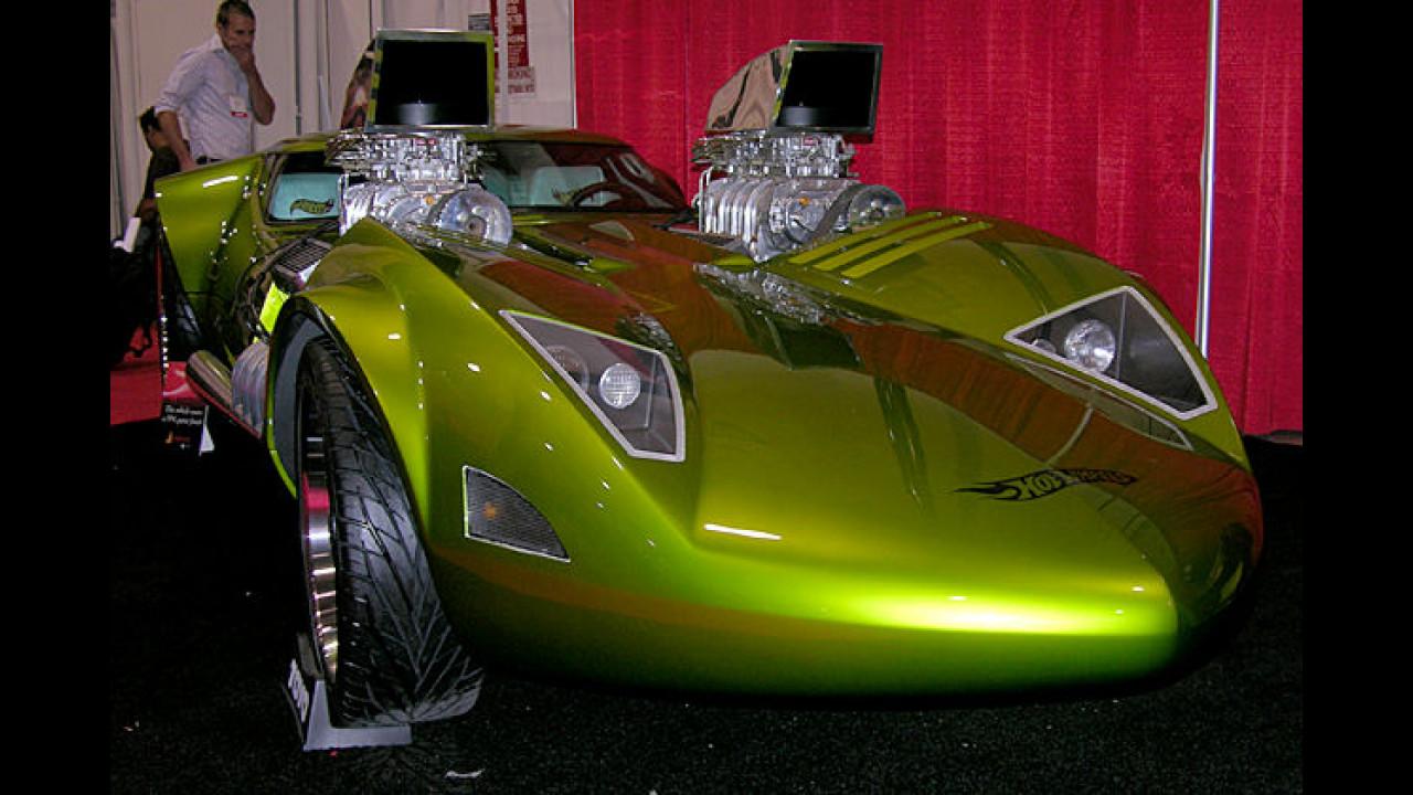 Kennen Sie noch die Hot-Wheels-Spielzeugautos aus ihrer Kindheit? Das hier ist die Version für Erwachsene