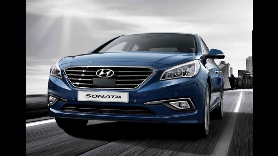 Hyundai Sonata 2015: nova geração é apresentada na Coreia - veja galeria
