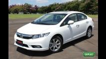 Oficial: Preços do Novo Civic 2012 começam em R$ 69.700 e chegam a R$ 85.900