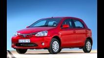 África do Sul: Toyota Etios é o segundo mais vendido no mês de novembro