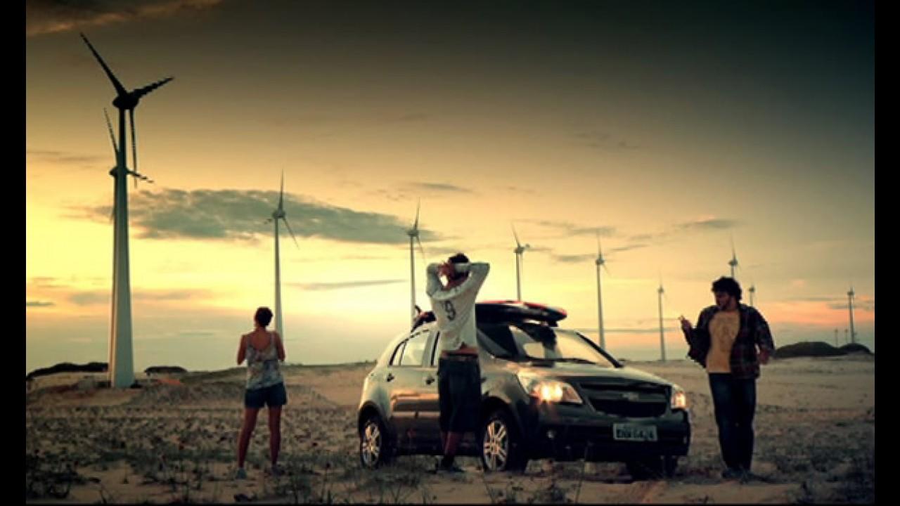 Chevrolet lança novo comercial do Agile