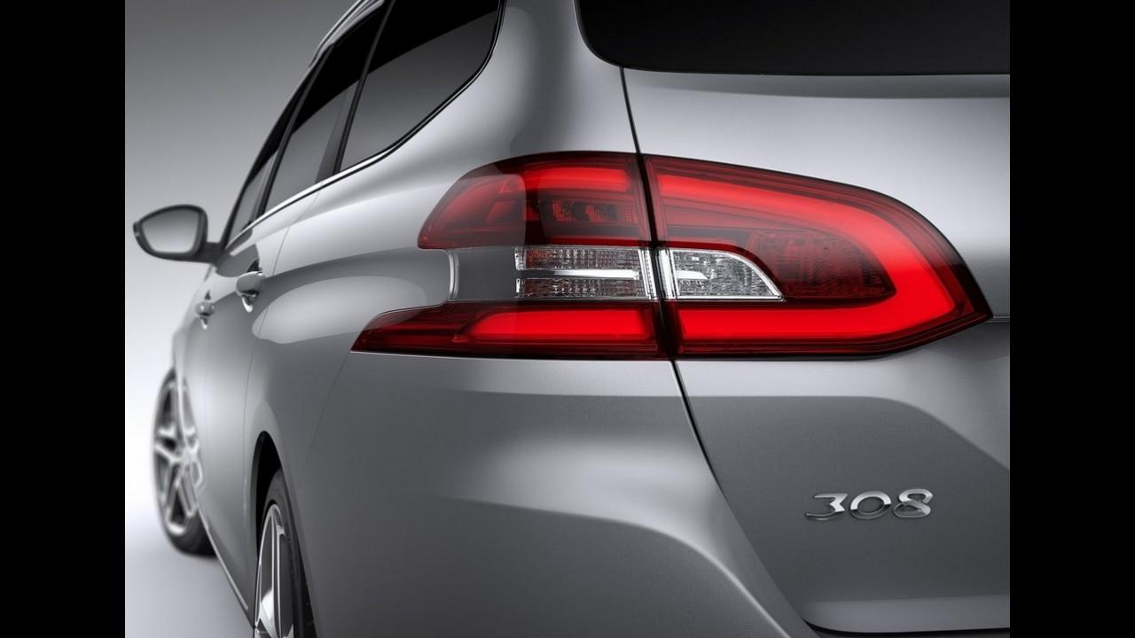 Peugeot revela novo 308 SW - versão perua ostenta espaço e belo visual