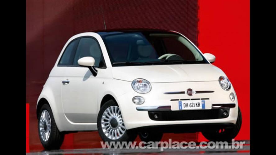 Primeiro lote do Fiat 500 para o Reino Unido esgotou em apenas 2 semanas