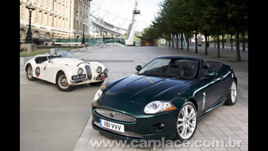 Salão de Londres: Jaguar comemora 60 anos do modelo XK com nova visual