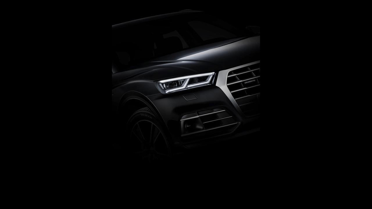 2017 Audi Q5 teaser fotoğrafı