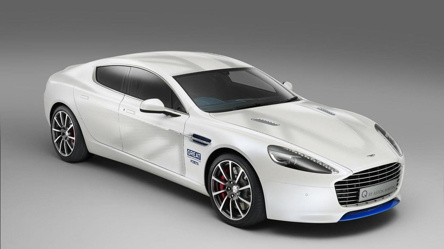 Aston Martin introduces a one-off Rapide S to promote the GREAT Britain campaign