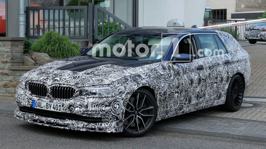 Next-gen Alpina B5 is already testing under future 5 Series