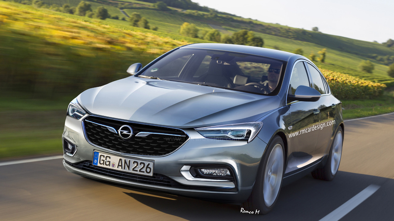 Let S Hope 2017 Opel Insignia Will Look Like This