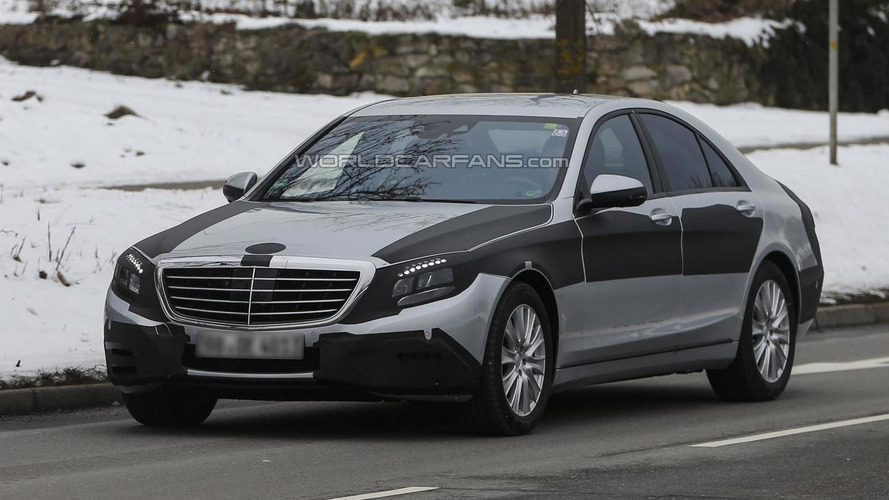 2013 Mercedes-Benz S-Class sheds more of its camo