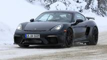 Porsche Cayman GT4 spy photo