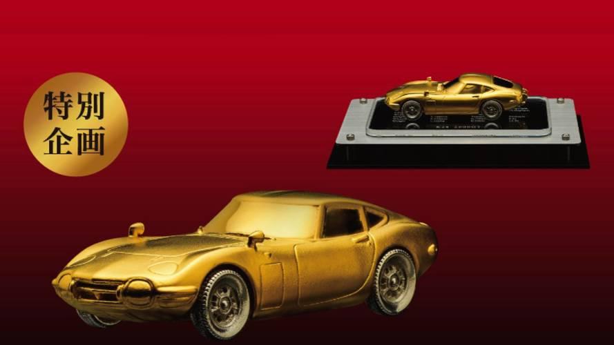 24-Karat Gold Toyota 2000GT